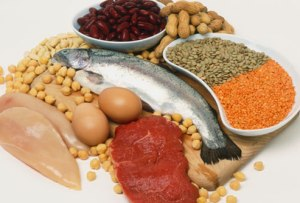 Image showing high protein foods